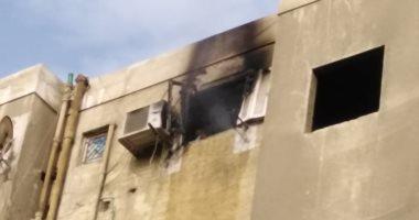 معاينة الحماية المدنية: ماس كهربائى وراء حريق شقة سكنية بالمعصرة