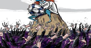 السعودية نيوز |                                              كاريكاتير صحيفة سعودية.. اللقاح طوق النجاه لألاف البشر