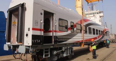 السكة الحديد تستقبل الدفعة الأخيرة من الجرارات الأمريكية الجديدة خلال أيام