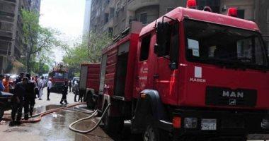 انفجار 7 أسطوانات بوتاجاز فى حريق مطعم بقنا