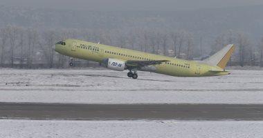 صور.. روسيا تختبر أول طائرة ركاب بمحركات محلية الصنع منذ الحقبة السوفيتية