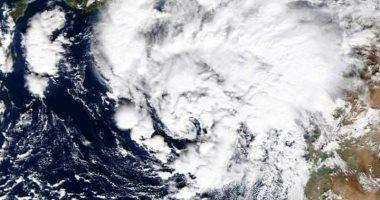 الأرصاد تكشف صورة من الأقمار الصناعية لعاصفة تصل بسرعات الرياح لـ50 كم فى الساعة