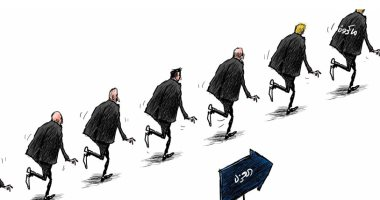 السعودية نيوز |                                              فيروس كورونا يدخل الإليزية فى كاريكاتير سعودى