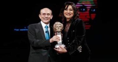 السعودية نيوز |                                              وفاء عامر وهبة مجدى توجهان رسالة شكر للفنان محمد صبحى بعد تكريمهما