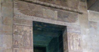 س و ج.. هل تم تطوير مسار الزيارة بمعبد إيزيس خلال أعمال ترميمه؟