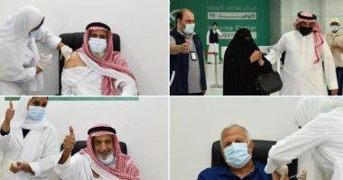 السعودية نيوز |                                              تطعيم أول مواطن ومواطنة ومقيم بلقاح كورونا فى مركز لقاحات جدة.. صور
