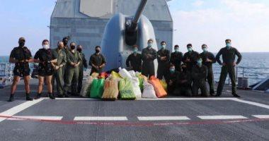 السعودية نيوز |                                              البحرية السعودية تضبط وتصادر شحنة مخدرات كبيرة فى بحر العرب