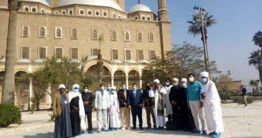 الأوقاف تنظم جولة لأئمة السودان فى القلعة ومسجدى الرفاعى والسلطان حسن.. صور