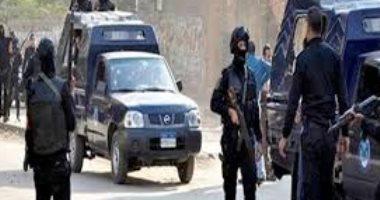 صورة سقوط 10 متهمين بحوزتهم أسلحة نارية وبانجو فى حملة أمنية بأسوان