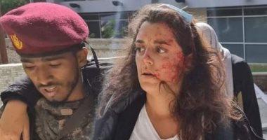 السعودية نيوز |                                              اللبنانية يارا خواجة متحدثة الصليب الأحمر باليمن تنجو من انفجارات عدن.. صورة