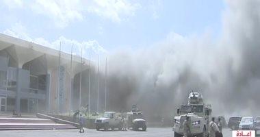 السعودية نيوز |                                              شهود: أعضاء الحكومة اليمنية نقلوا بسلام إلى القصر الرئاسى بالمدينة