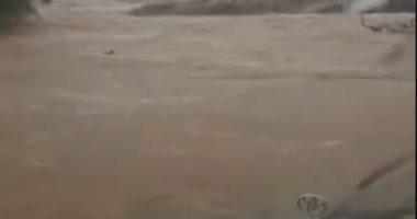 السعودية نيوز |                                              أمطار غزيرة فى السعودية.. والدفاع المدنى يحذر من السيول.. فيديو