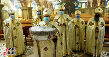 السعودية نيوز                                                كنيسة الملاك بشيراتون تحتفل بعيد الميلاد وسط تطبيق إجراءات لمواجهة كورونا..صور