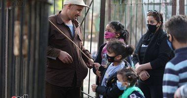 إقبال كبير على حديقة الحيوان بالجيزة للاحتفال بثالث أيام عيد الأضحى