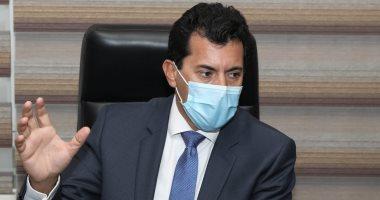 وزير الرياضة: تنظيم مونديال اليد نجح بالفقاعة المغلقة.. وحسن مصطفى: مجهود رائع للصحة
