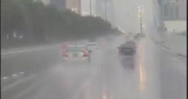 السعودية نيوز |                                              أمطار غزيرة ورعدية فى السعودية.. والأرصاد تحذر من السيول.. فيديو