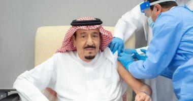 السعودية نيوز |                                              خادم الحرمين الشريفين الملك سلمان يتلقى جرعة لقاح كورونا.. فيديو وصور