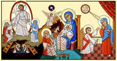 السلام وأيقونة الميلاد وطنى 10