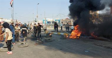 السعودية نيوز |                                              اشتباكات عنيفة بين الشرطة العراقية ومحتجين فى الناصرية والجيش يتدخل.. فيديو
