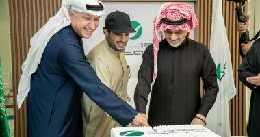 السعودية نيوز |                                              تركى آل الشيخ والوليد بن طلال يشهدان افتتاح المقر الجديد لشركة روتانا بالرياض.. فيديو