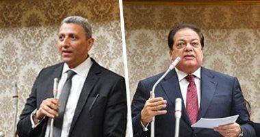 فوز أحمد سعد الدين ومحمد أبو العينين بمنصب وكيلى مجلس النواب
