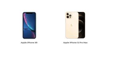 إيه الفرق؟.. أبرز الاختلافات بين هاتفى iPhone 12 Pro Max و iPhone XR