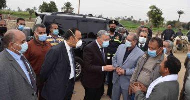 محافظ المنيا: حصر احتياجات التنمية الشاملة لتطوير الريف المصرى ضمن حياة كريمة