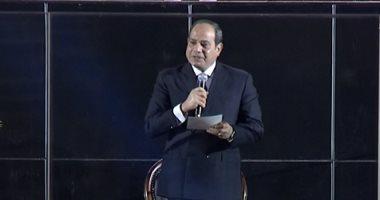 الرئيس السيسي يعلن افتتاح كأس العالم لكرة اليد