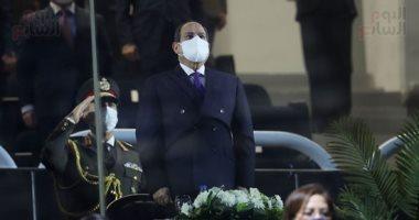 الرئيس السيسي يفتتح بطولة كأس العالم لكرة اليد باستاد القاهرة