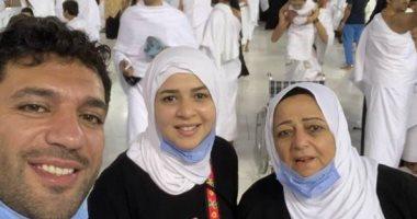 إيمى سمير غانم تستعيد ذكرياتها مع والدة زوجها بصور عائلية وتدعو لها بالرحمة