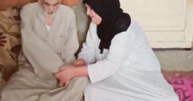 ماتت زوجته فلحق بها بعد 10 أيام من شدة الحزن قصة حب ولا فى الأفلام.. فيديو
