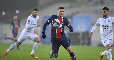 إيكاردى يمنح الأفضلية لـ باريس سان جيرمان على مارسيليا فى الشوط الأول