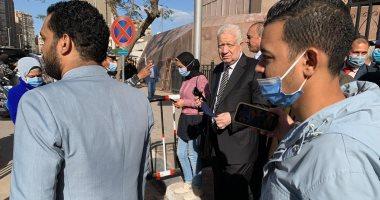 """المفوضين بـ""""القضاء الإدارى"""" تحجز دعوى مرتضى منصور على قرار إيقافه للتقرير"""