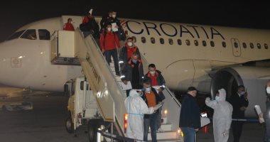 منتخب مقدونيا لكرة اليد يصل القاهرة للمشاركة فى كأس العالم