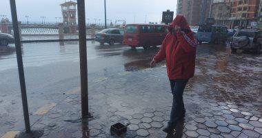 الأرصاد تتوقع سقوط أمطار على الإسكندرية تمتد للدلتا والقاهرة الساعات القادمة