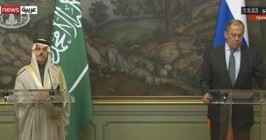 السعودية نيوز |                                              وزيرا الخارجية الروسى والسعودى يؤكدان دعم إطلاق عملية سياسية فى ليبيا