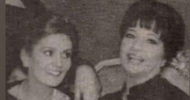 """شادية ويسرا فى صورة نادرة من كواليس فيلم """"لا تسألنى من أنا"""""""