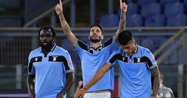 """صورة لاتسيو ضد روما.. النسور تحلق بالهدف الثانى فى الدقيقة 23 """"فيديو"""""""