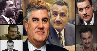 عبد الحكيم عبد الناصر: أحمد زكى ومجدى كامل أفضل من جسدا شخصية والدى