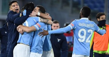 ملخص وأهداف لاتسيو ضد روما فى الدوري الإيطالي