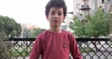 """طفل مصرى بألمانيا عمره 12 سنة بيتكلم 4 لغات.. شاهد ماذا قال عن لغته """"فيديو"""""""
