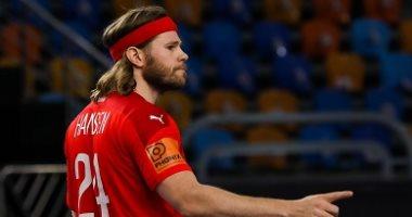 مايكل هانسن نجم الدنمارك أفضل لاعب فى بطولة العالم لكرة اليد مصر 2021