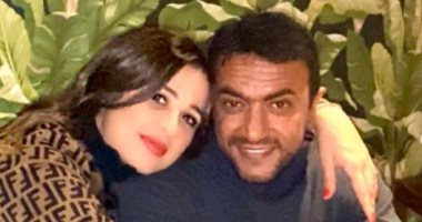 """""""أحبك أكتر ما تتخيلى"""" العوضى يحتفل بعيد ميلاد ياسمين عبدالعزيز بصور رومانسية"""