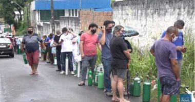 احتجاجات ضد رئيس البرازيل بسبب كورونا ونقص الأكسجين وانهيار نظام الصحة..فيديو