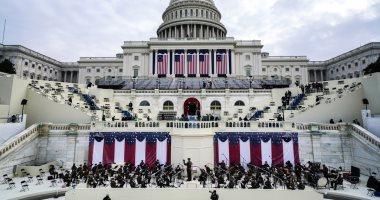 بروفة حفل تنصيب الرئيس الأمريكى المنتخب جو بايدن فى الكابيتول.. صور