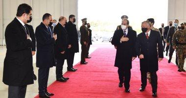 الرئيس السيسي يعود إلى القاهرة بعد زيارة رسمية للأردن