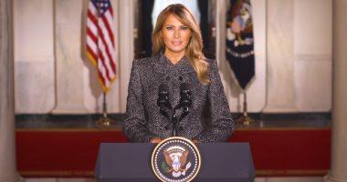 رسالة وداع مؤثرة من سيدة أمريكا الأولى: أشعر بالتواضع لتمثيل بلد الكرم.. فيديو