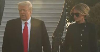 ترامب فى تصريح أخير: أتمنى ألا يكون وداع البيت الأبيض لفترة طويلة