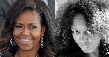 مشاهير ظهرن بشعرهن الطبيعى بسبب كورونا أبرزهن ميشيل أوباما.. شعر أبيض وهايش