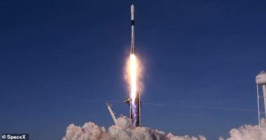 SpaceX  تطلق بنجاح 60 قمراً صناعياً آخر من شبكة Starlink إلى الفضاء